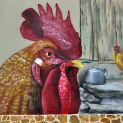 Cuando el gallo canta Detalle
