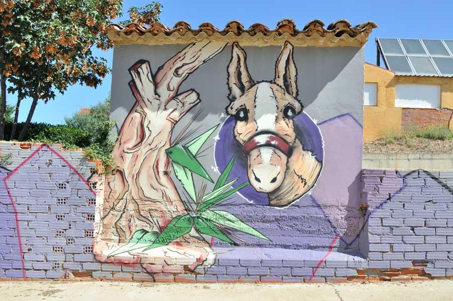 La trilla con burro (Detalle) (2)