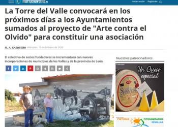 La Torre del Valle convocará en los próximos días a los Ayuntamientos sumados al proyecto de